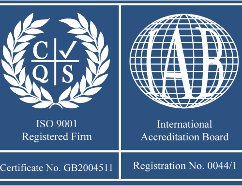 Recertification of BS EN ISO 9001:2008 inc. 17025:2005 & 14001:2004