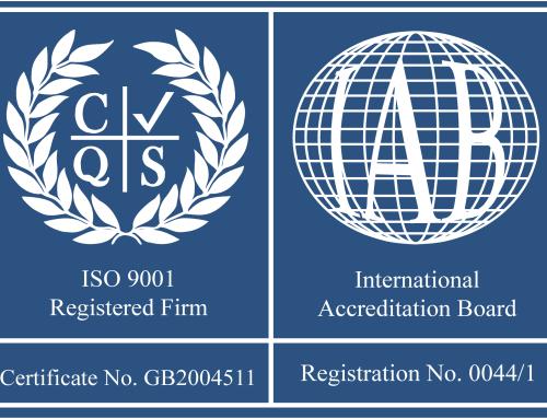 Recertification of BS EN ISO 9001:2008 inc. 17025:2005 & 14001:2004