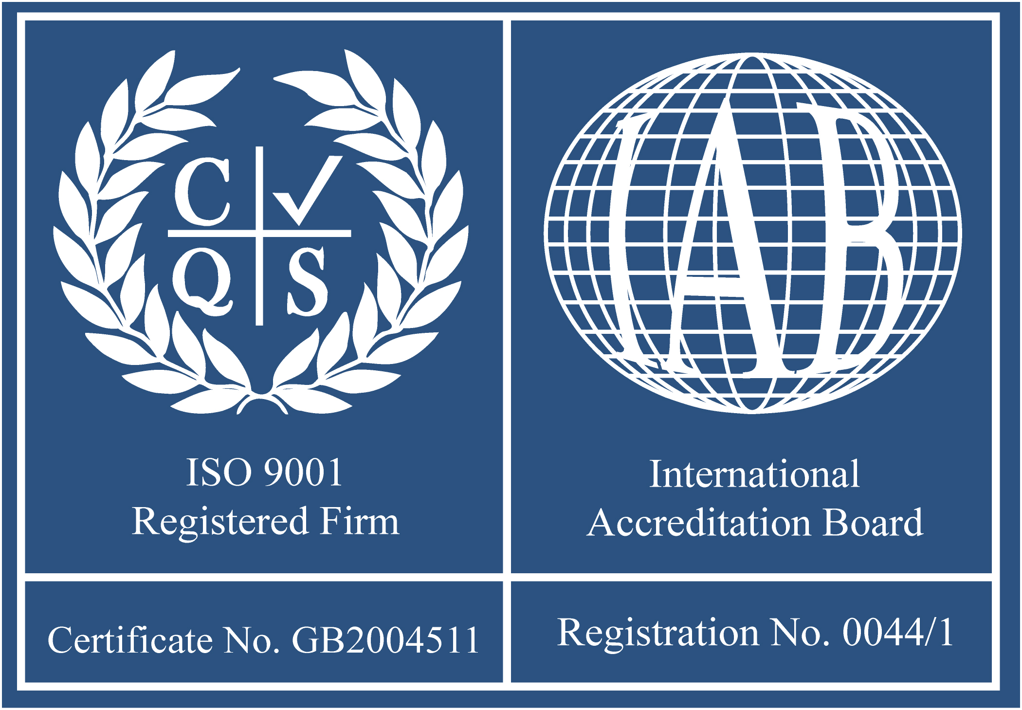 Emsworth Stability Plus Iso Certification