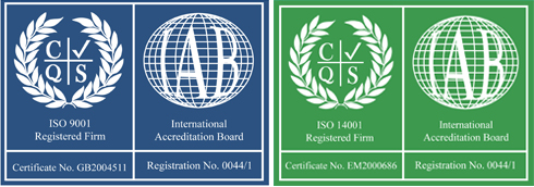 ISO certifcations